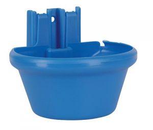 Plastová miska závěsná na krmivo i vodu s uchycením na stěnu Kerbl
