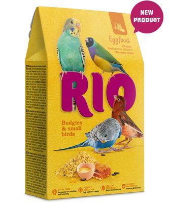 RIO Eggfood vaječná směs pro andulky a drobné exotické ptactvo 250 g