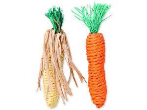 Sisalová mrkev a kukuřice