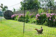 Síťová ohrada králík, slepice, jehňata 50m zelená, 106cm vysoká, jednohorotá