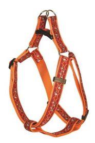 Postroj Atlanta oranžový, 50-80cm
