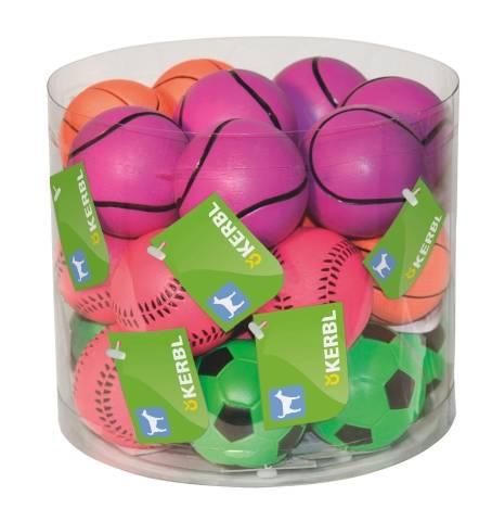 Neonové míčky Ø 6cm Kerbl