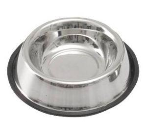 Nerezová miska s gumou,700ml