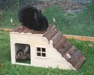 Domek s rampou Nature, hlodavci Kerbl