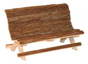 Dřevěná lavička Nature
