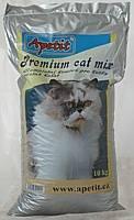 Apetit Premium Cat 10kg, kompletní krmivo pro kočky, včetně koťat