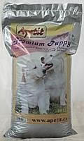 Apetit Premium Puppy 10kg, kompletní granulované krmivo pro psy