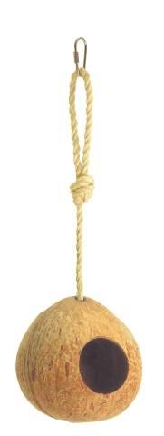 Hnízdo - kokosový ořech, na provaze