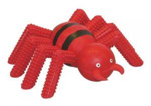 Pavouk TG, červený pískací 15cm