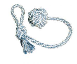Házecí míč na laně bavlněný