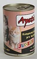 Apetit - konzerva pro koťata- JUNIOR 410g