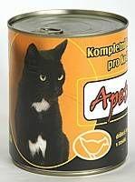 Apetit - konzerva pro kočky - drůbež 855g