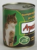 Apetit - konzerva pro kočky - zvěřina 855g, zvěřinové kousky v rosolu