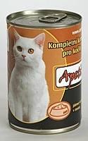 Apetit - konzerva pro kočky - játra 410g, játrové kousky v rosolu