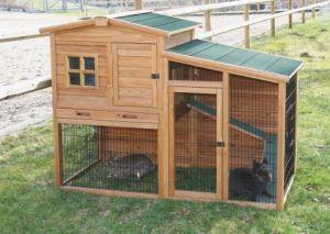 Domek pro králíky či slepice Fortuna se spodním výběhem
