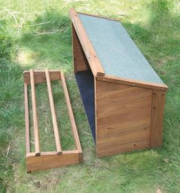 Malá bouda připojitelná k domku 82813