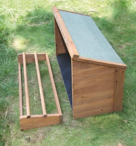 Malá bouda připojitelná k domku 82813 Kerbl
