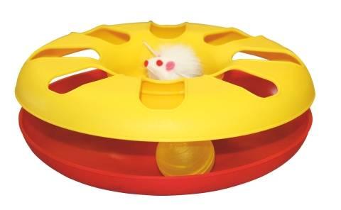 Kolo s myší a míčkem, hračka, Ø 24 cm