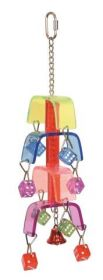 Hračka s kostkami barevná 43cm