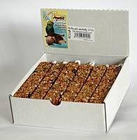 Apetit - tyčky pro andulky 12ks (krabička), tvarované krmivo, pochoutka pro ptáky s medem