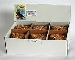 Apetit - srdce pro andulky 18ks, (krabička), tvarované krmivo, pochoutka pro ptáky s medem